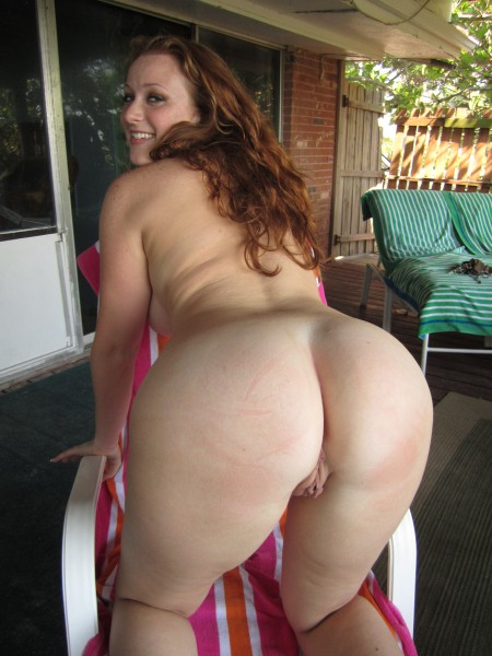 redhead big ass naked beach