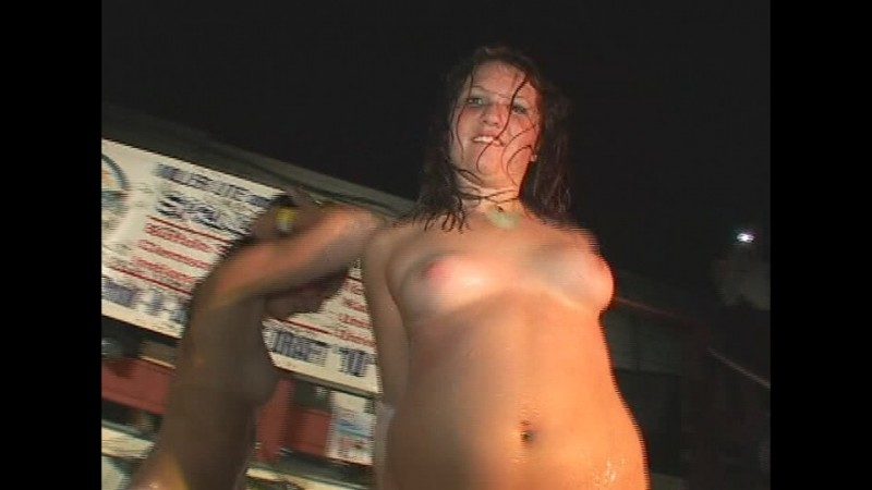 naked on stage wet t shirt