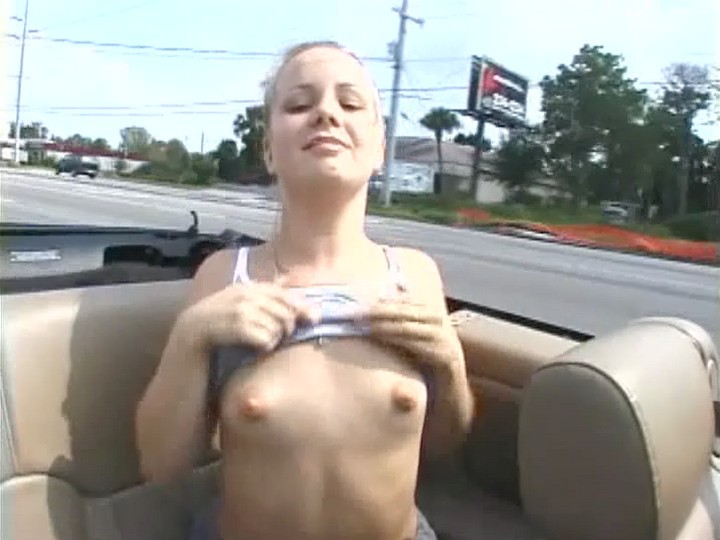 flashing car crash